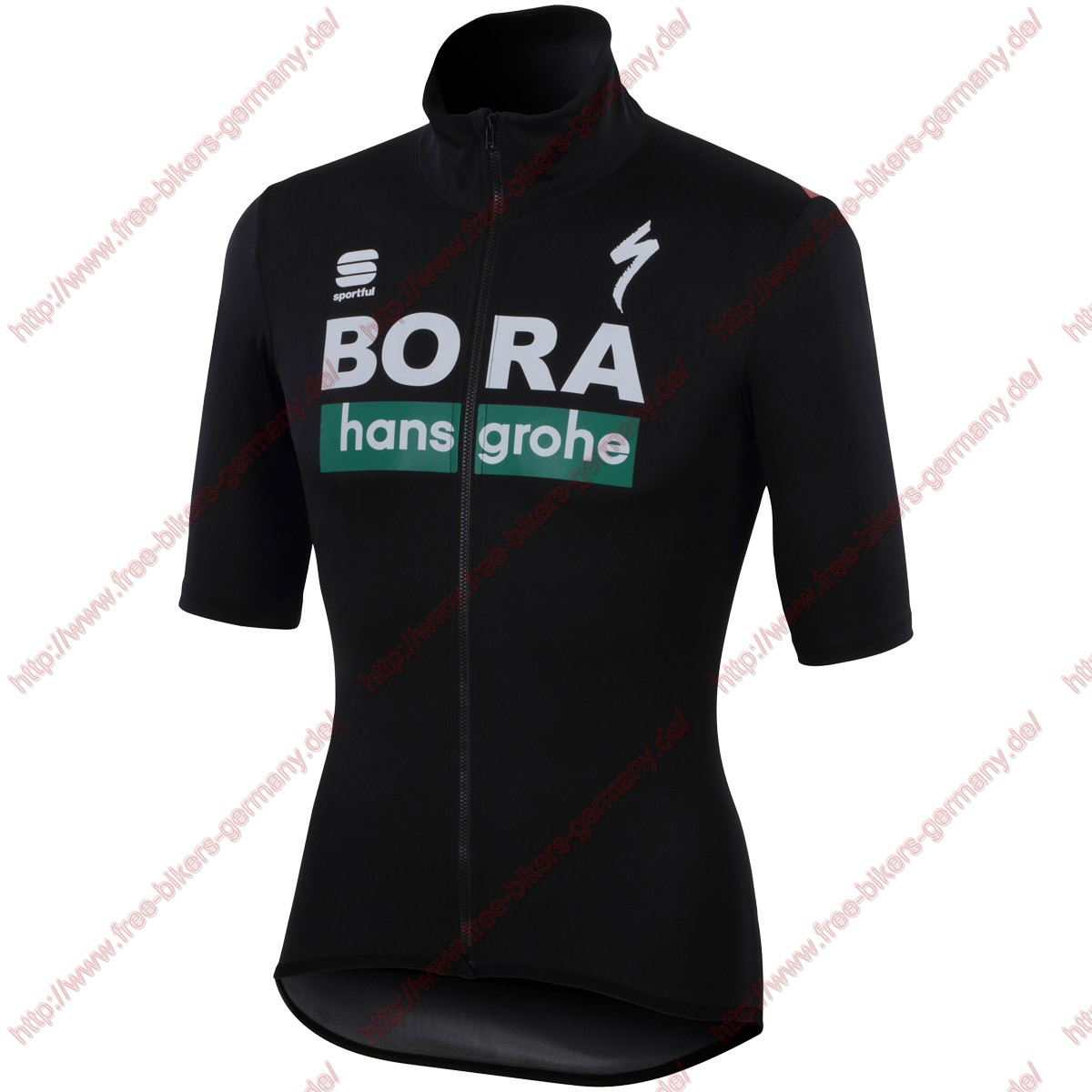 Profiteams Bora Hansgrohe 2019 Fiandre Light Trikot Kurzarm Outlet