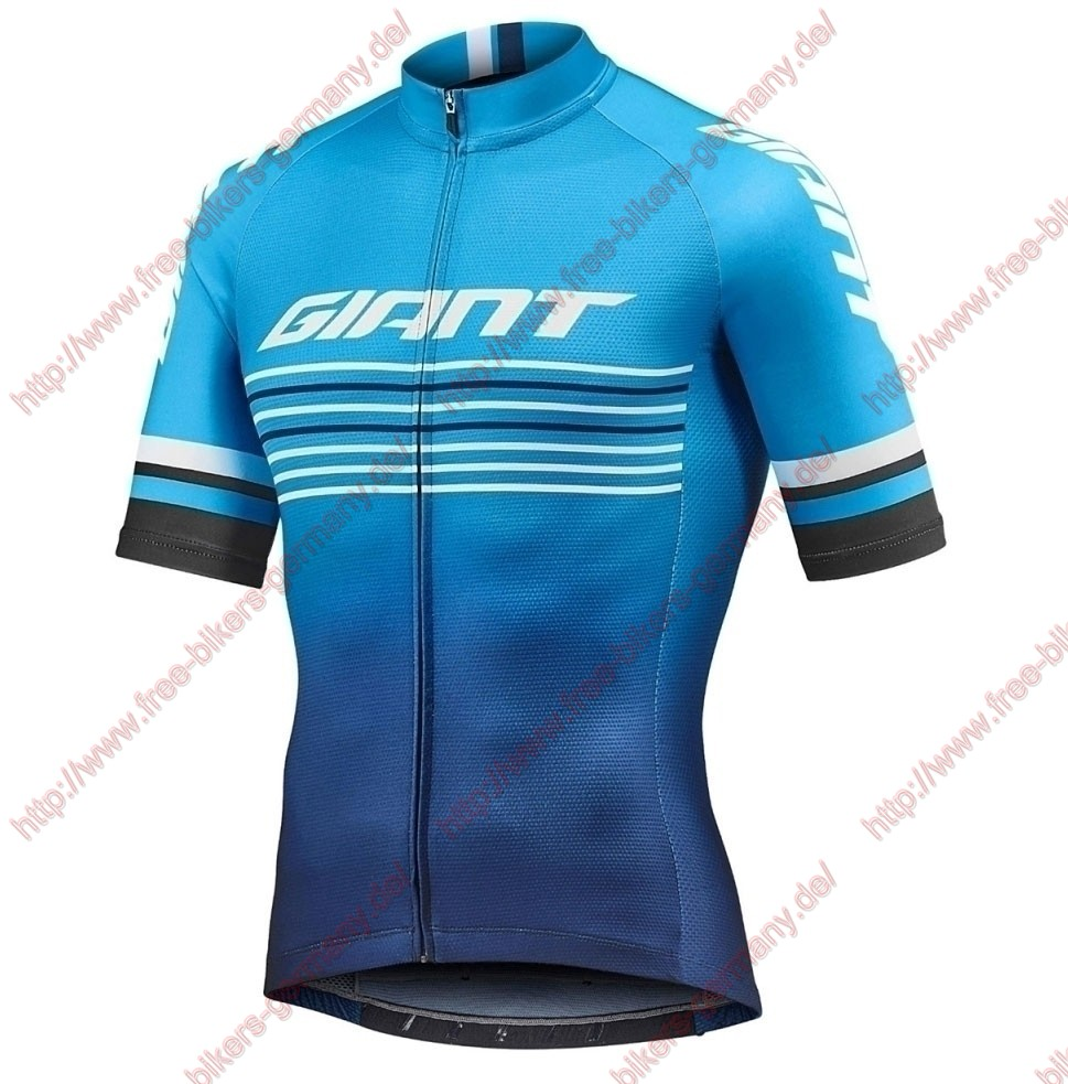 Profiteams 2019 Giant Race Day Blue Trikot Kurzarm Outlet