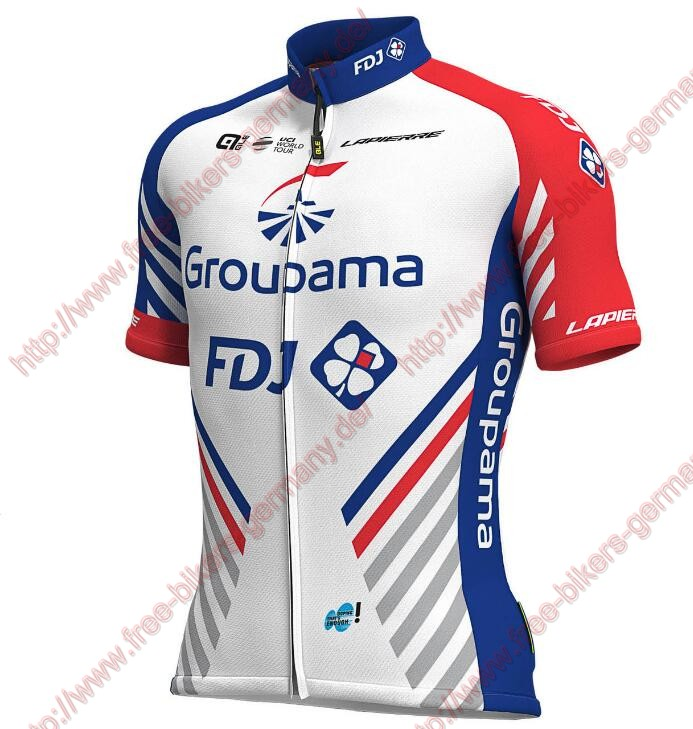 Profiteams 2019 Groupama FDJ Trikot Kurzarm Outlet
