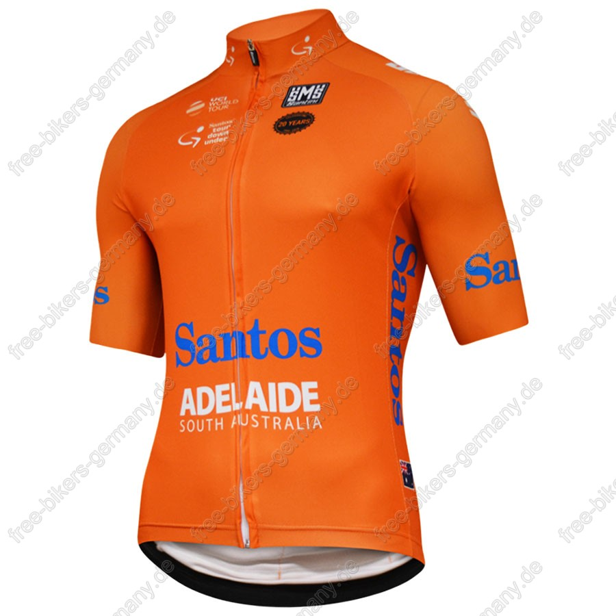 Santos TOUR DOWN UNDER Profiteam 2018 Trikot Kurzarm