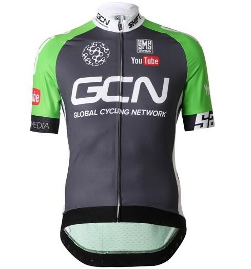 2016 GCN GLOBAL CYCLING NETWORK Radtrikot Kurzarm grün ONUB293