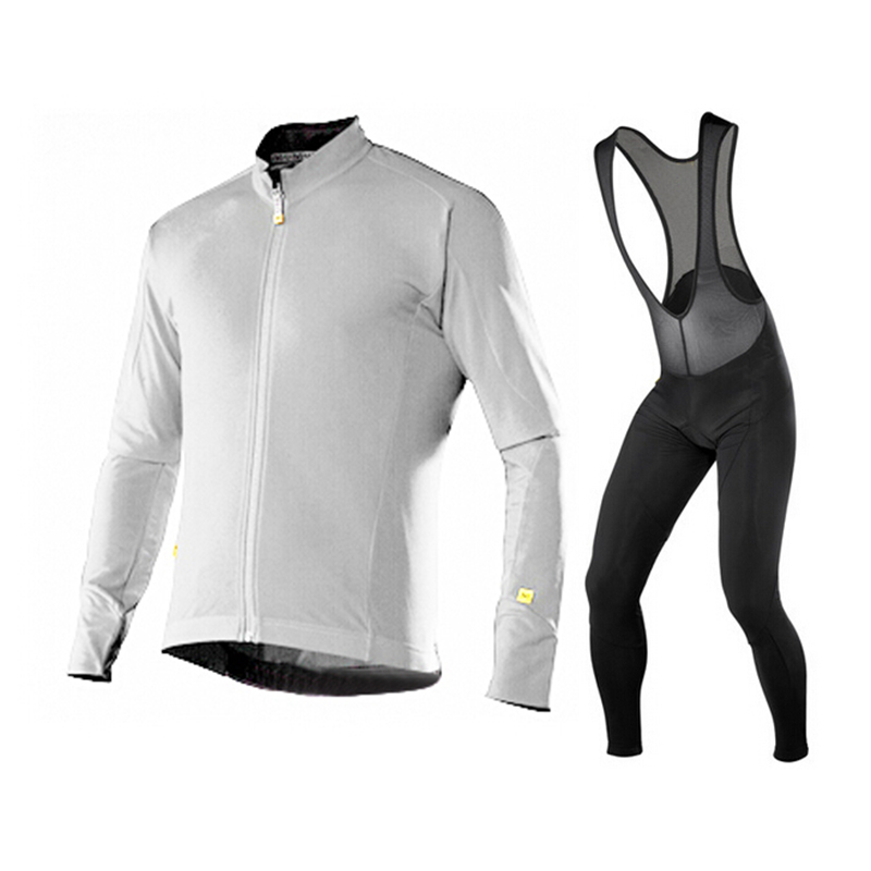 2015 mavic Long Sleeve and Cycling bib Pants Cycling Kits Strap STBU626