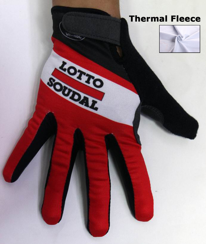 2015 LOTTO SOUDAL Radhandschuhe Lang MEAA742
