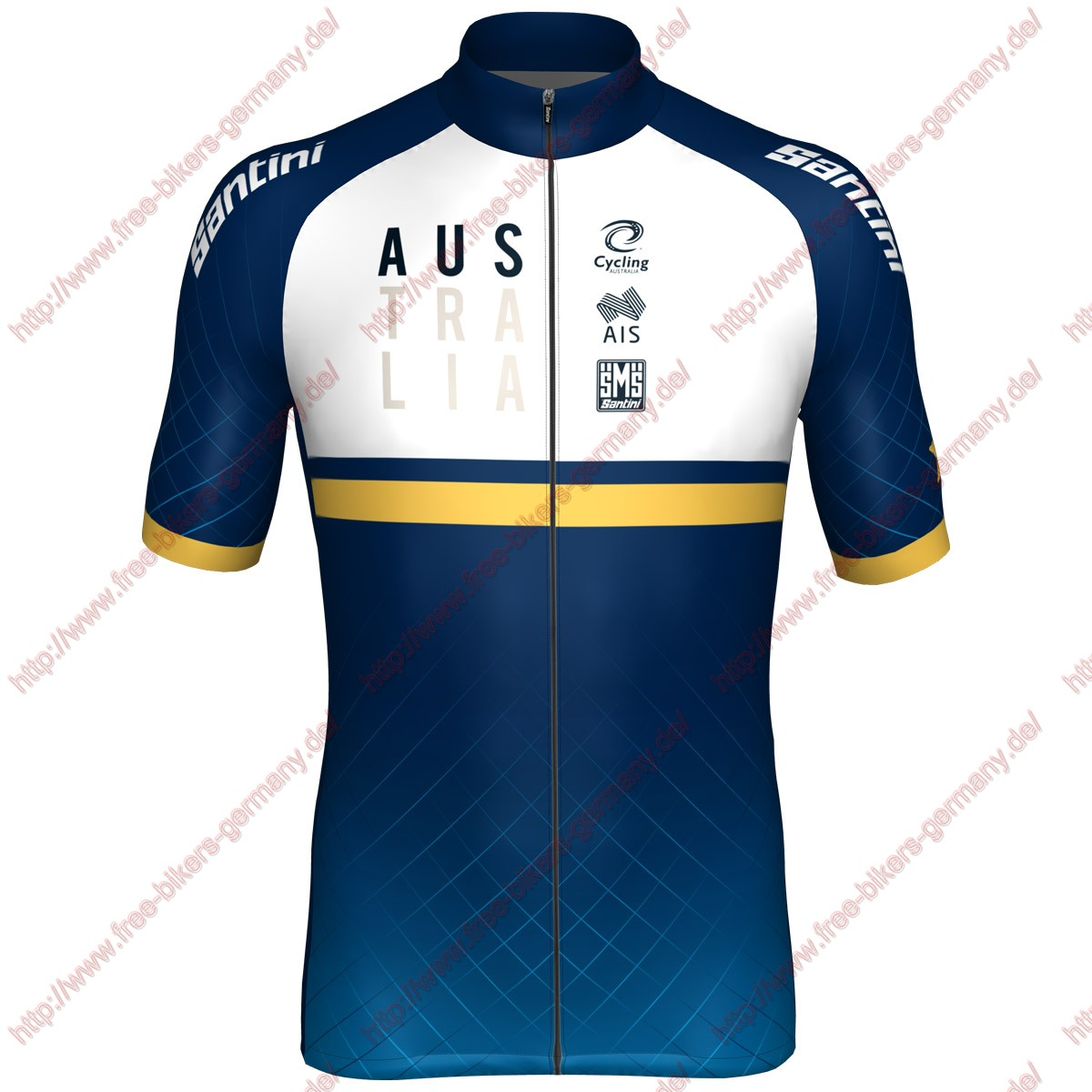 Radsport Australia national team 2018 Trikot Kurzarm