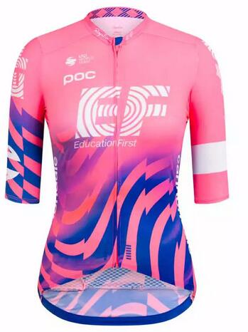 Fahrradbekleidung Radsport 2020 Damen EF Education First Trikot Kurzarm Outlet