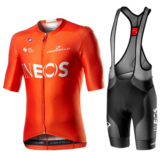 Fahrradbekleidung Radsport 2020 TEAM INEOS Aero Set training edition (AERO RACE 6.0 Trikot Kurzarm Outlet + FREE AERO R