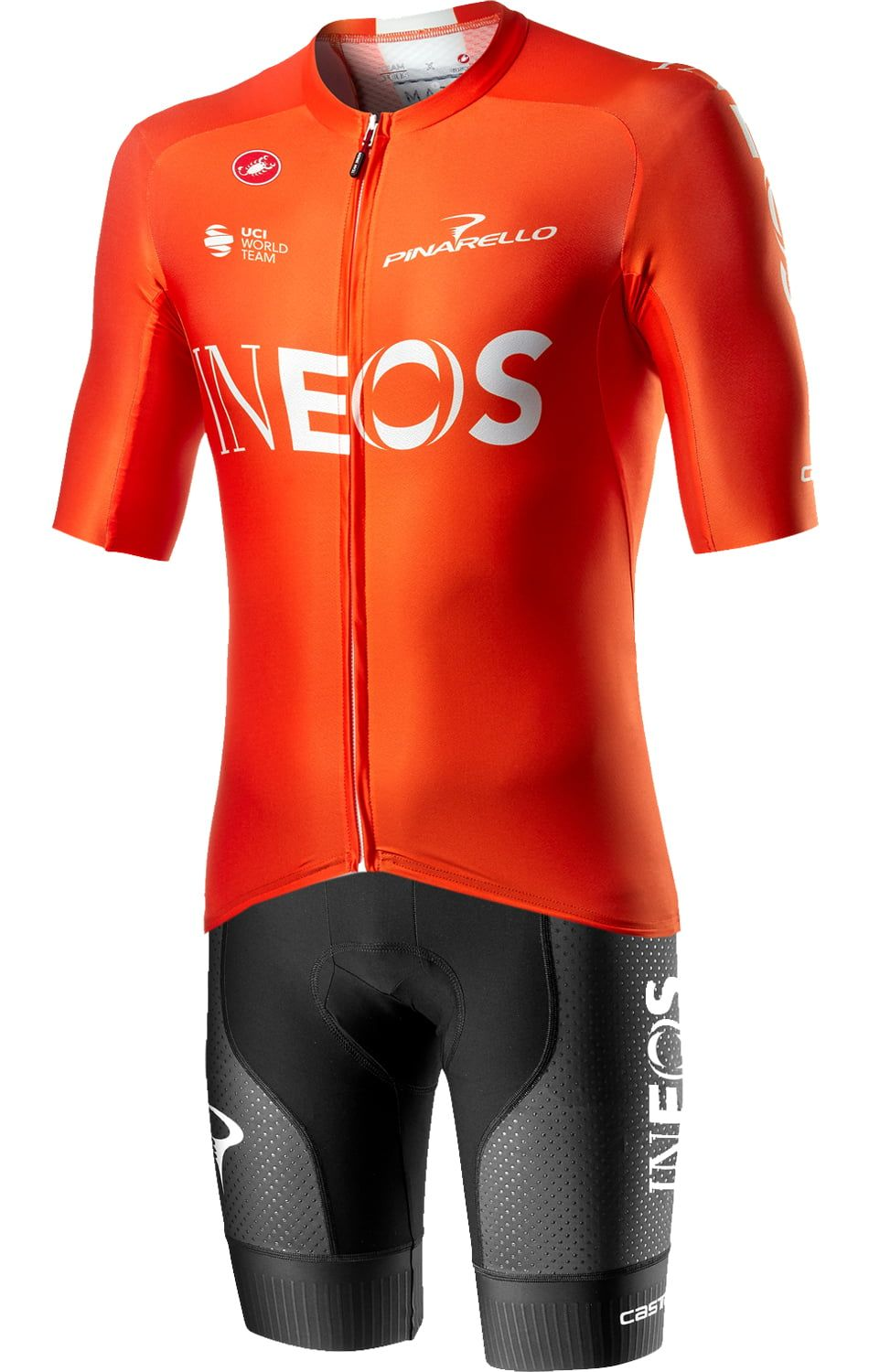 Fahrradbekleidung Radsport 2020 TEAM INEOS Aero Set training edition AERO RACE 6.0 Trikot Kurzarm Outlet + FREE AERO RA